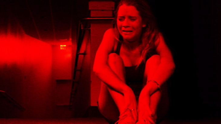 THE GALLOWS - 2015 FILM STILL - Pictured: CASSIDY GIFFORD as Cassidy Spilker - Photo Credit: Warner Bros © 2015 Warner Bros. Entertainment Inc.