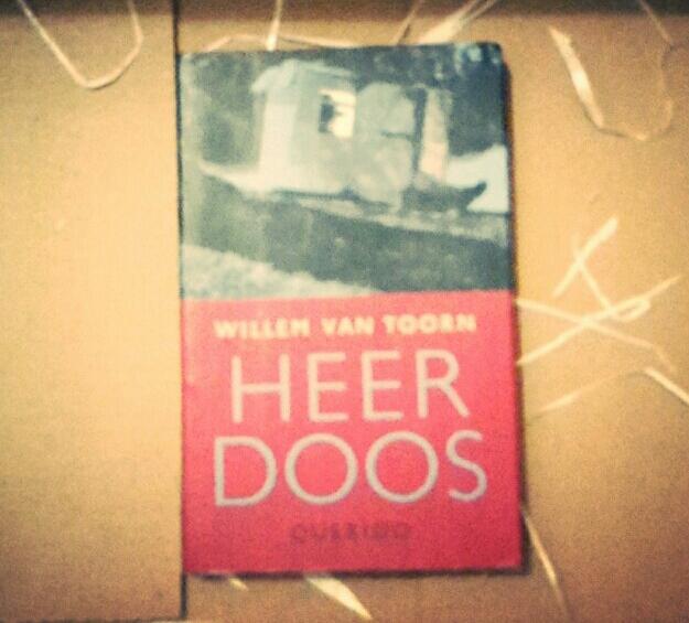 Boekcover Heer Doos, Willem van Toorn
