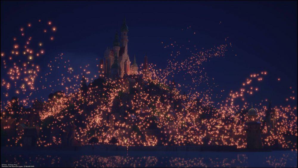 De koninkrijk van Rapunzel
