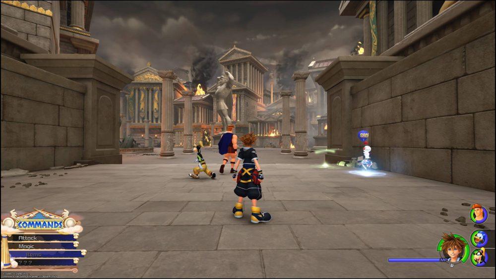 Het nieuwe Olympus in Kingdom Hearts 3
