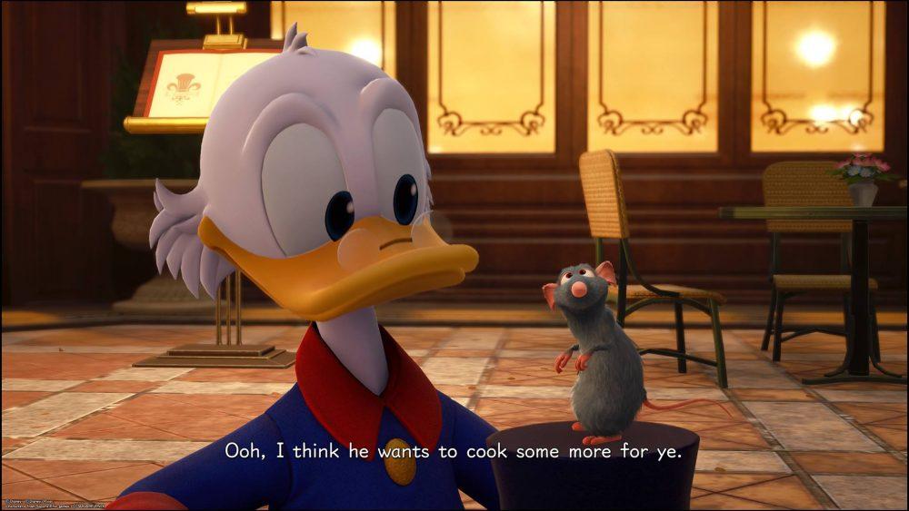 Remi en Scrooge McDuck