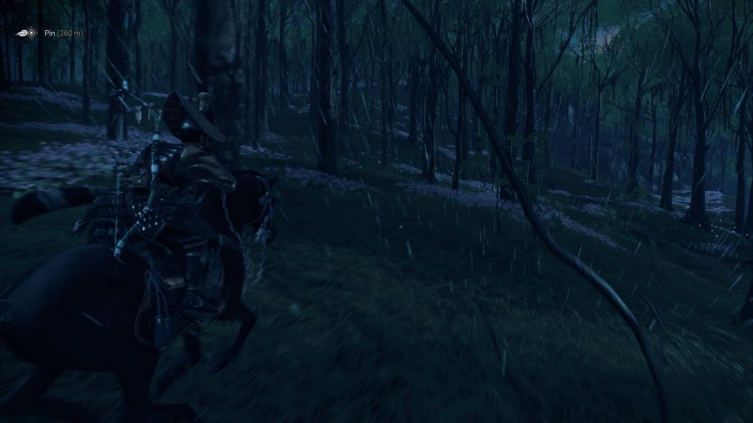 Ghost of Tsushima: Director's Cut Weather